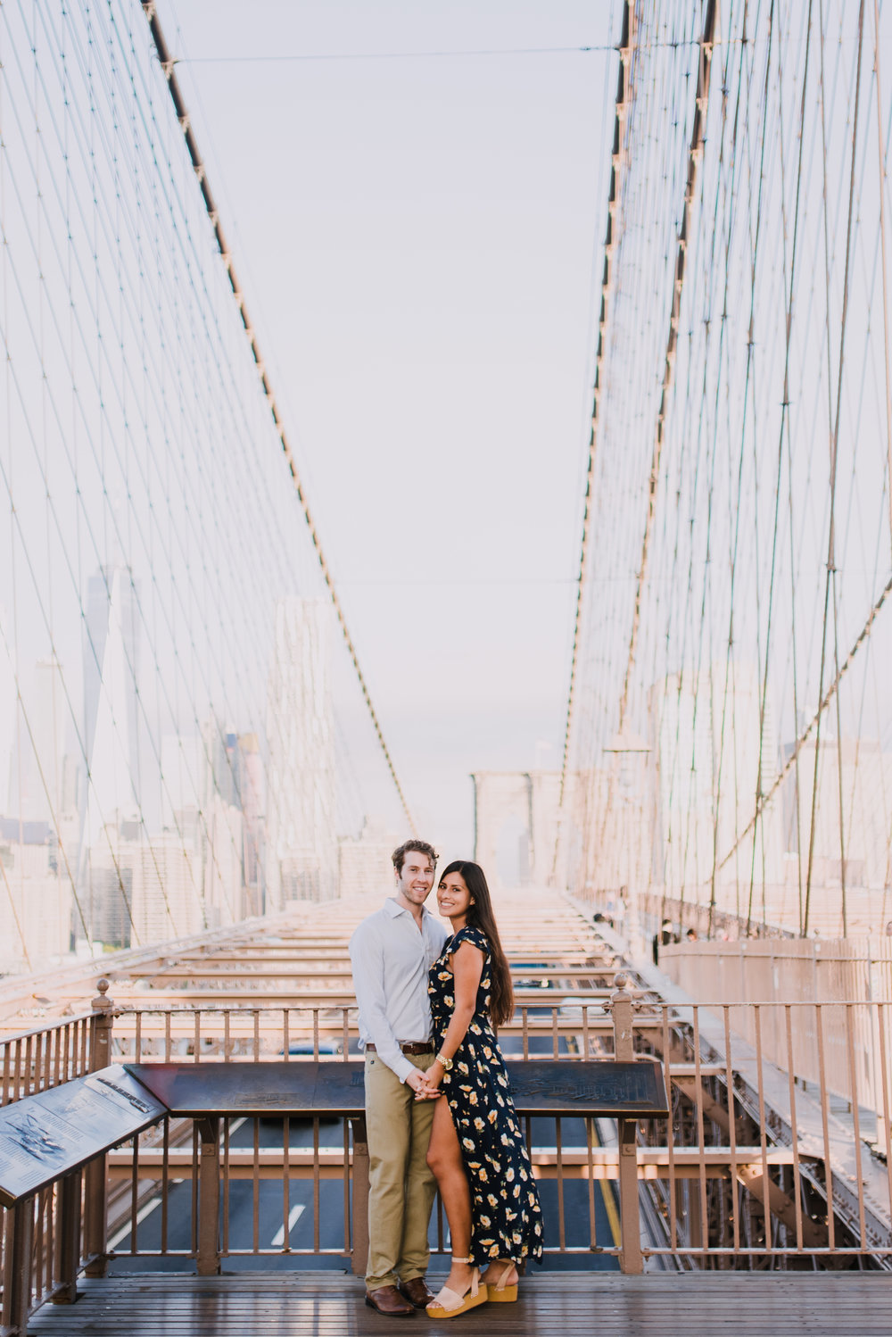 brooklyn bridge engagement shoot, couple shoot nyc, nyc wedding photographer, destination wedding photographer, documentary wedding photographer in nyc (21).jpg