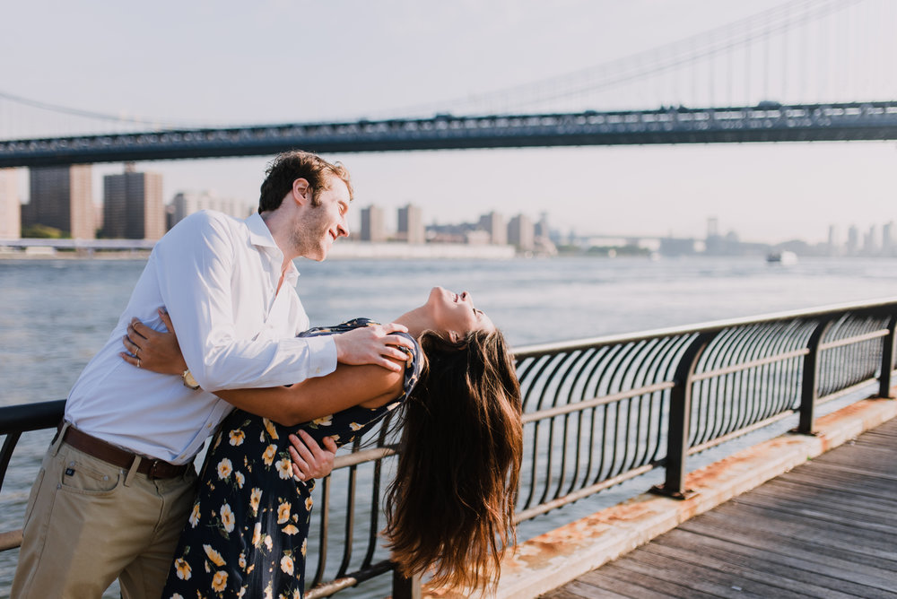 brooklyn bridge engagement shoot, couple shoot nyc, nyc wedding photographer, destination wedding photographer, documentary wedding photographer in nyc (25).jpg
