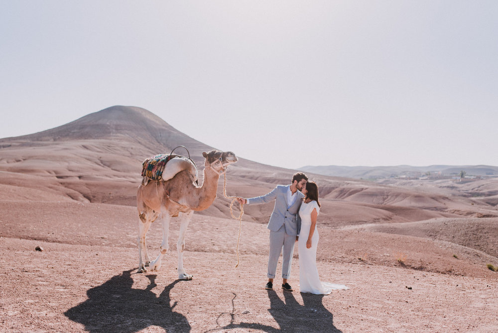 Eva & Killian Elopement in Morocco