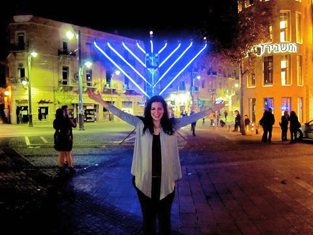 ⠀⠀⠀⠀⠀⠀⠀⠀⠀ 🕎 The first time I went to Israel (Dec. 2011) was over Chanukah! ⠀⠀⠀⠀⠀⠀⠀⠀⠀ ⠀⠀⠀⠀⠀⠀⠀⠀⠀ ✡️ I instantly fell in love with the land and the people. Chanukah is still my very favorite time to be in Israel. It's not too hot 🔥 , the menorot 🕎 are burning proudly every night, and the sufganiyot 🍩 are the most fantastic desserts in the world (and the bakeries keep coming out with more amazing choices each year!) ⠀⠀⠀⠀⠀⠀⠀⠀⠀ ⠀⠀⠀⠀⠀⠀⠀⠀⠀ 🤞🏼 🍷 here's hoping that I make it back to 🇮🇱 for Chanukah soon! ⠀⠀⠀⠀⠀⠀⠀⠀⠀ ⠀⠀⠀⠀⠀⠀⠀⠀⠀ 📍Jerusalem |📸 @josepe_junior | #latergram ⠀⠀⠀⠀⠀⠀⠀⠀⠀ ⠀⠀⠀⠀⠀⠀⠀⠀⠀ ⠀⠀⠀⠀⠀⠀⠀⠀⠀ #travel #travelpic #travelblog #jewish #judaism #jewishlife #rabbi #reformjudaism #religion #faith #spiritual #soul #instatravel #travelphoto #travelphotography #travelgram  #chanukah #hanukkah #happychanukah #happyhanukkah #menorah #israel #jerusalem