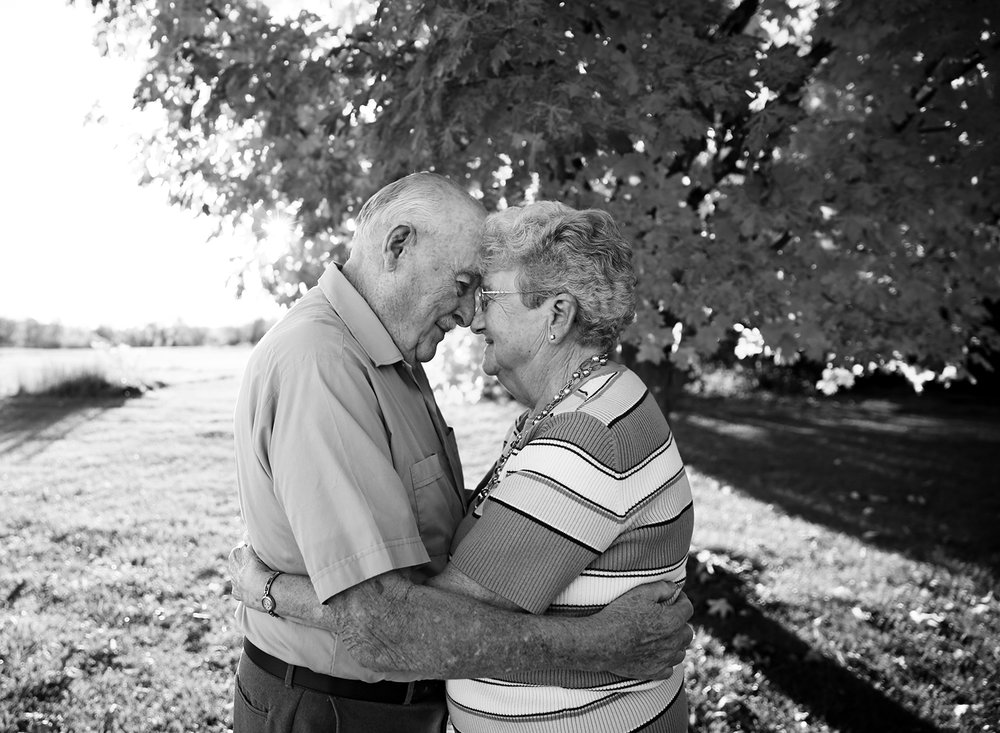 professional portrait of grandparents in penn yan new york