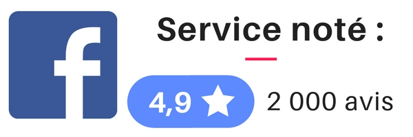 service note 4 virgule 9 sur facebook