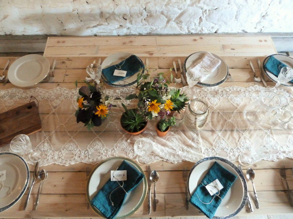 Copy of Wide Trestle Table hire