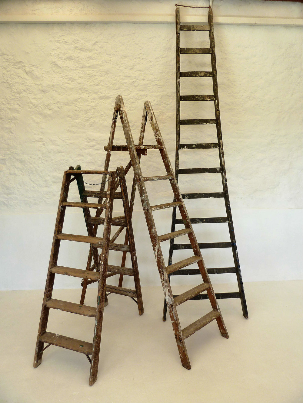 Assorted ladders  Hire £8-15 each