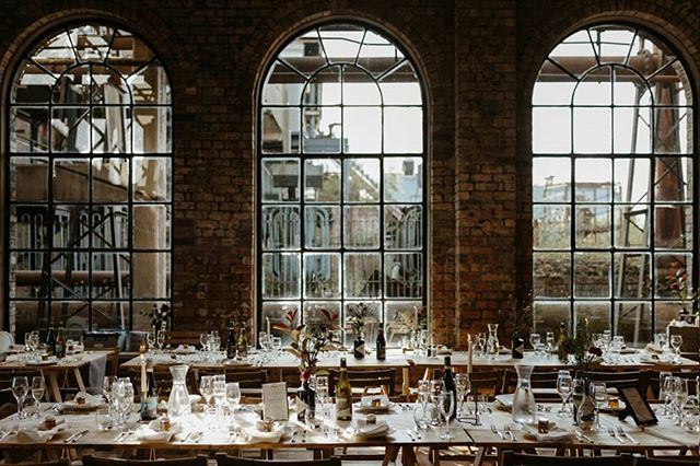 Industrial x Natural    Styling perfection from Shayma + David's stunning wedding @natminingmuseum back in September. We don't always get a chance to see our hire collection styled on the day, so when these gorgeous shots by @wonderfulandstrangeinsta crossed our path over the weekend we were blown away... Images// @wonderfulandstrangeinsta Furniture// @hoplerwoodco Venue// @natminingmuseum . . .  #eventrentals #summerwedding #industrialwedding #weddinginspo #bohowedding #weddingdecor #rusticeventrentals #tablesetting #bridebook #hoplerwoodco