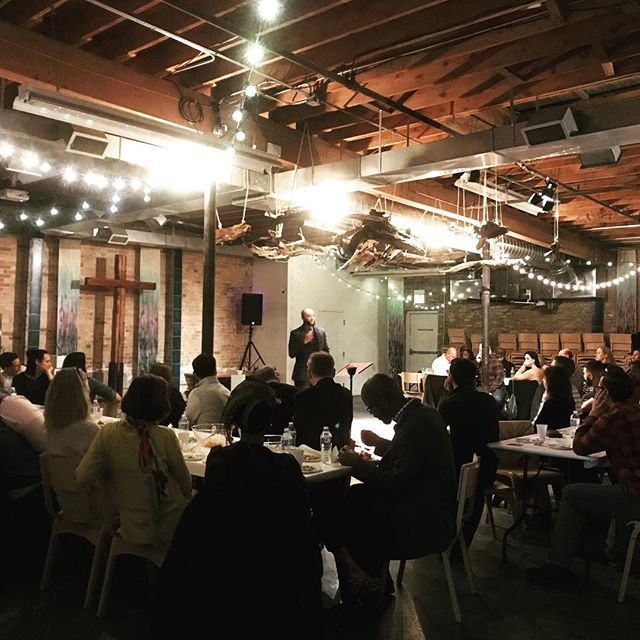 Grateful for such a warm and encouraging night at our first annual Partnership Dinner - celebrating God's continual work with laughter, prayer, fellowship, and feasting! #thechicagopartnership