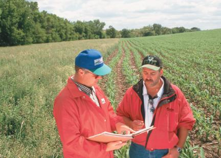Planning crop field conservation practices