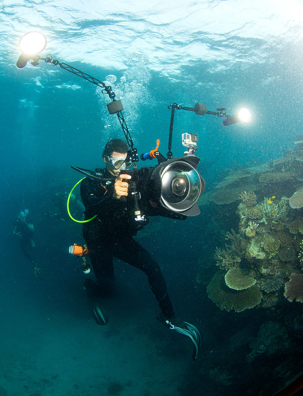 Director-Jeff-Orlowski-filming-on-the-GBR---Photo-by-Richard-Vevers---Chasing-Coral.jpg