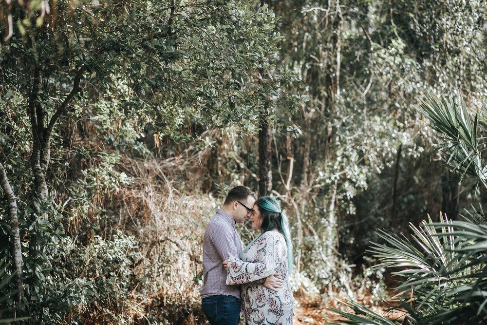 Jacksonville Florida Couple Engagement Session