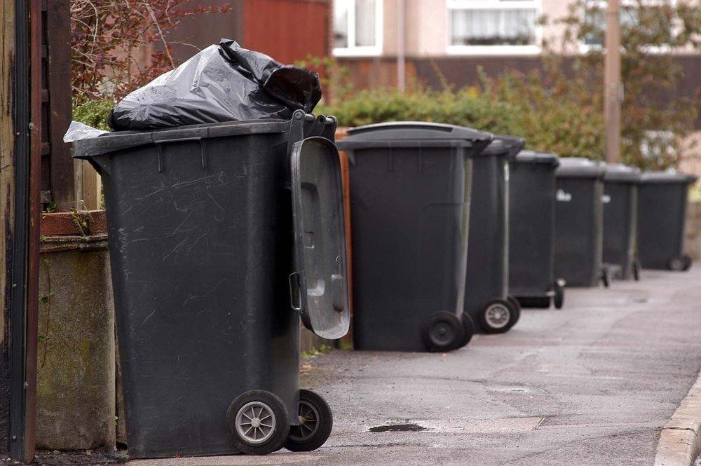Peterborough city bins