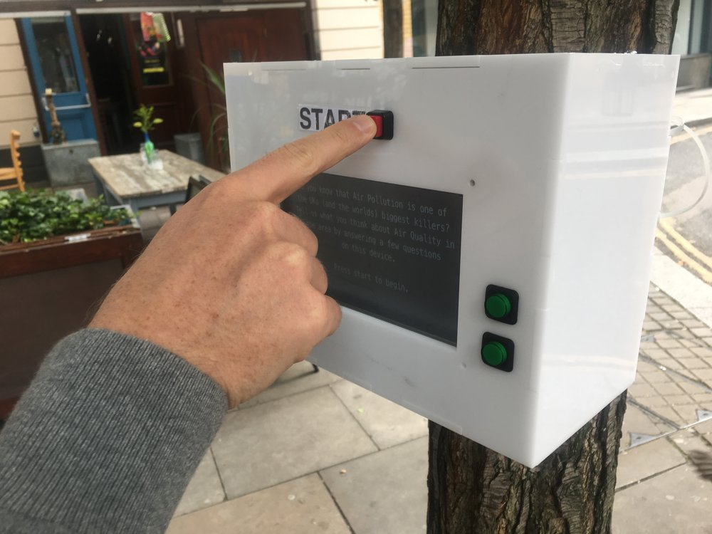 Trialling situated devices for public engagement