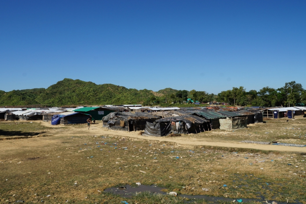 The Nayapara displacement camp in Bangladesh where we engaged with Rohingya children and caregivers