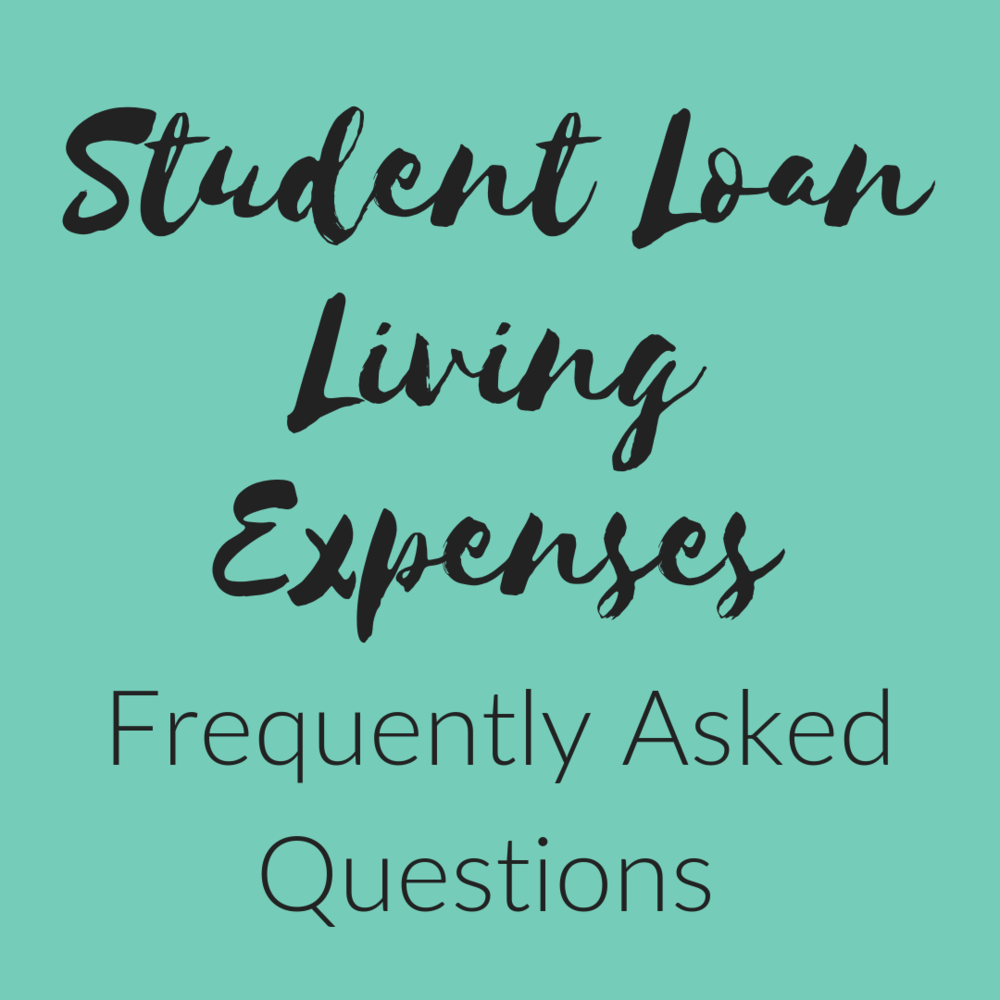 Student Loan Living Expenses