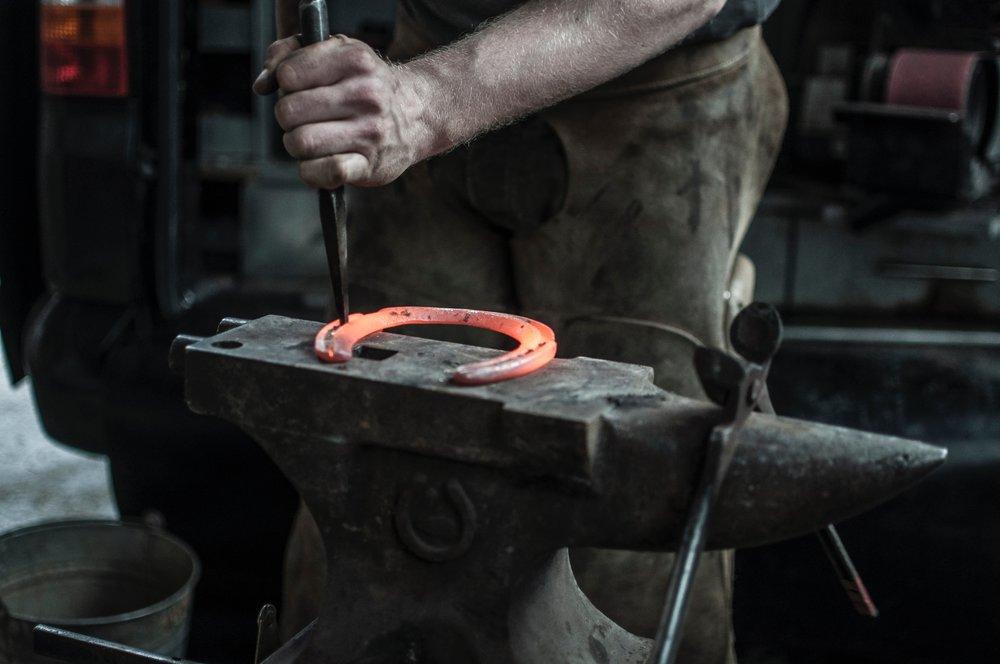 Welding blacksmith