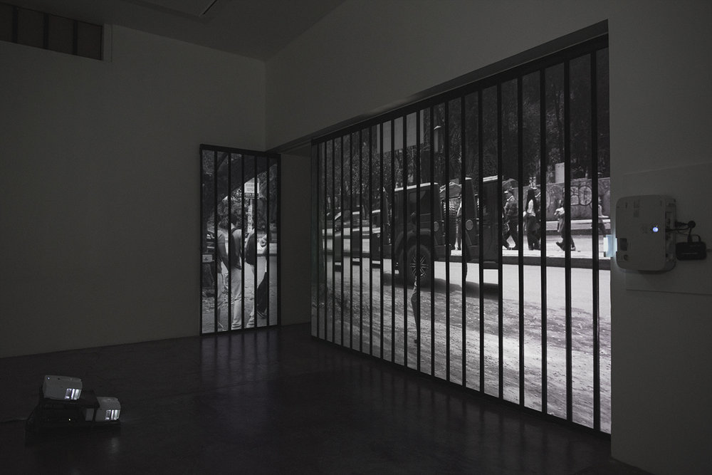 La terquedad de las cosas , 2015. Site Specific Video installation in El Eco museum, Mexico City.