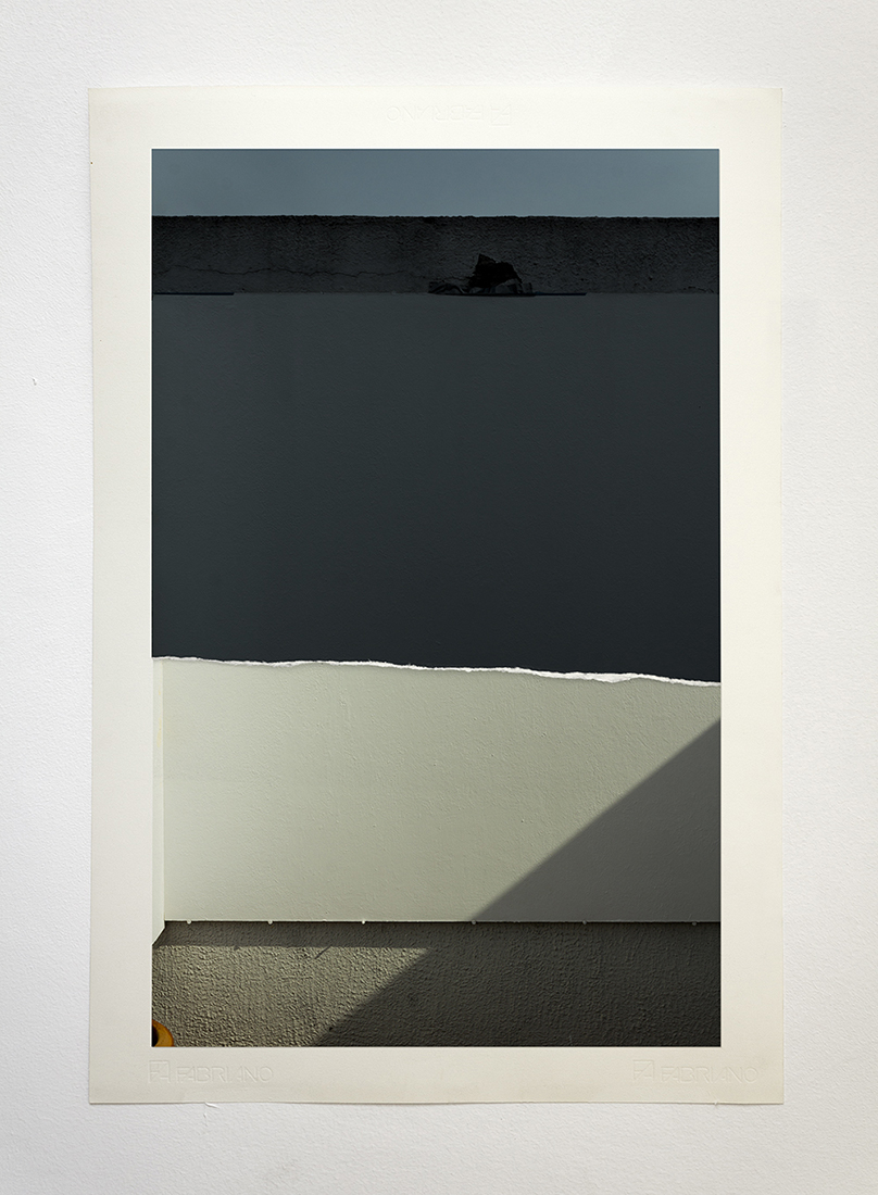 Materia prima (corte B),  2014  Archival InkJet cutouts on cotton paper  44 x 65 cm  Ed. 1 of 3 + PA