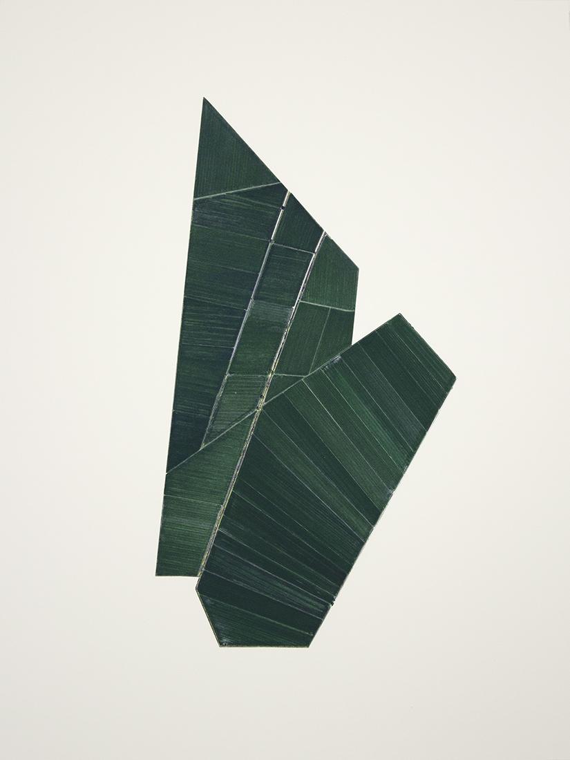 Recortes en el campo mexicano No. 6,  2013  Cutout inkjet print on cotton paper  45 x 60 cm  Ed. 1 of 3 + PA