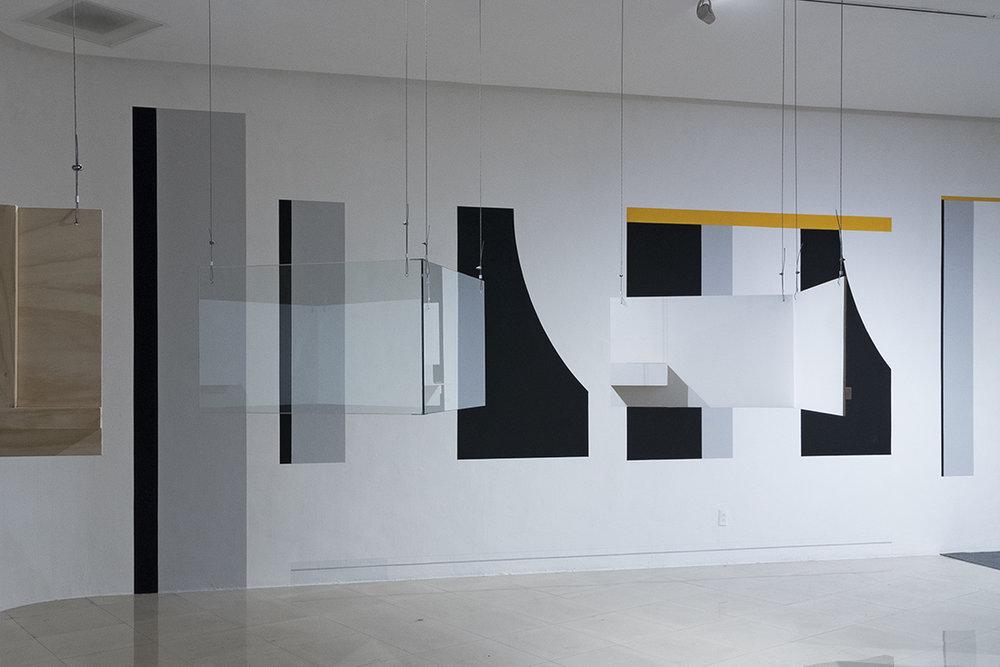 Fabiola Torres-Alzaga and Leo Marz. Exhibition view