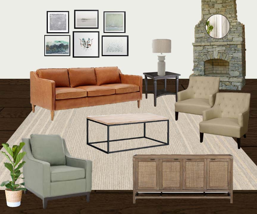 family room style board