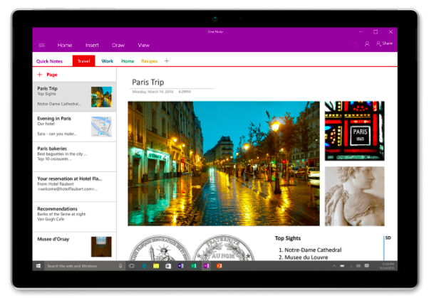 OneNote - 5 Tools to start using today