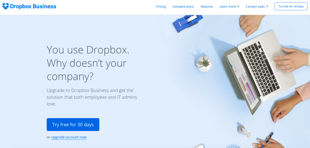 Dropbox - 5 tools to start using right now