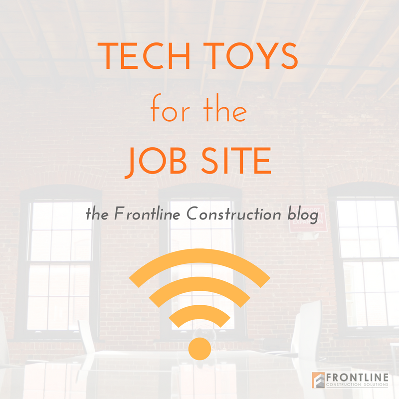 construction technology frontline small business job site