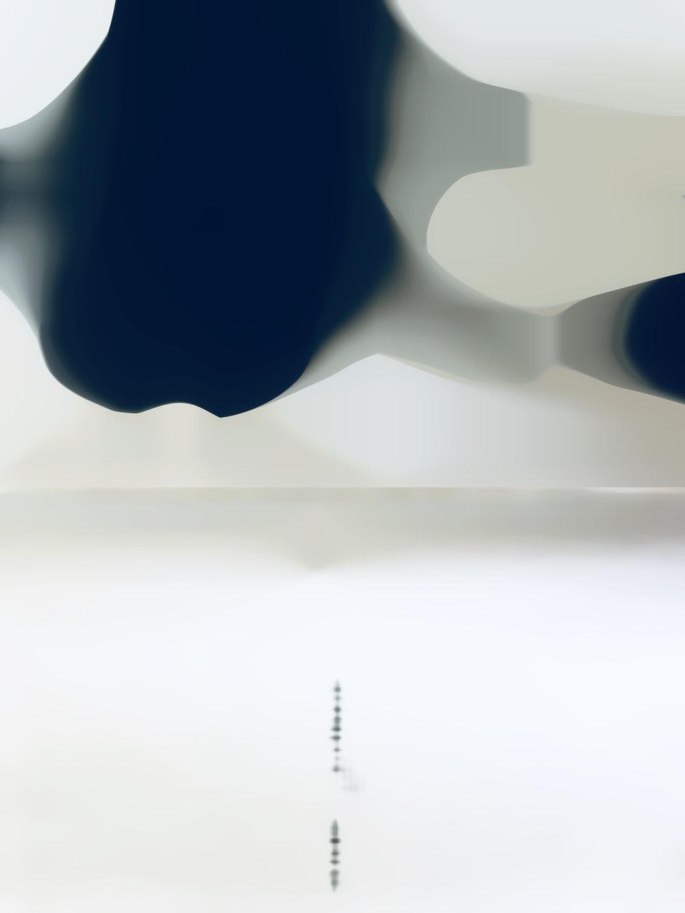 "Blur BW1 | 40"" x 50"""