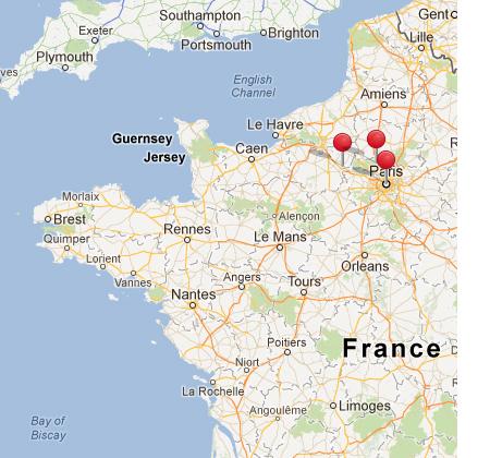 Paris Auvers Sur Oise Amp Giverny France
