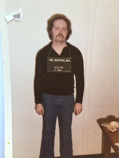 "Charles Kennedy, a member of Tony Fiore's crew, is pictured here in an FBI photo from 1978. Intelligence officials gave him the nickname ""The Ghost"" because he was notoriously difficult to catch. Courtesy of the Rhode Island state police."