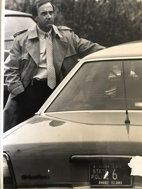 In 1990, Brian became the Captain, Detective Commander of the Rhode Island state police. Courtesy of Brian Andrews.