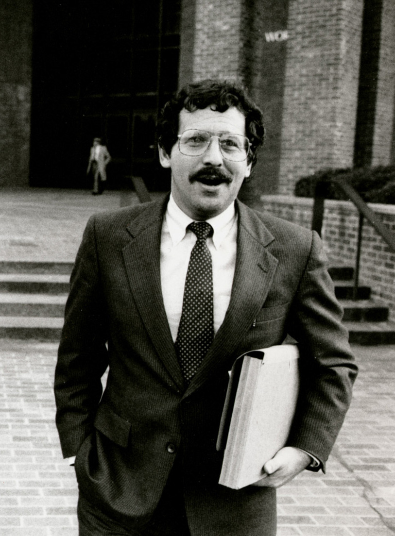 Richard Egbert, Bobo Marrapese's lawyer, was a well-known criminal defense attorney. Courtesy of the Providence Journal.