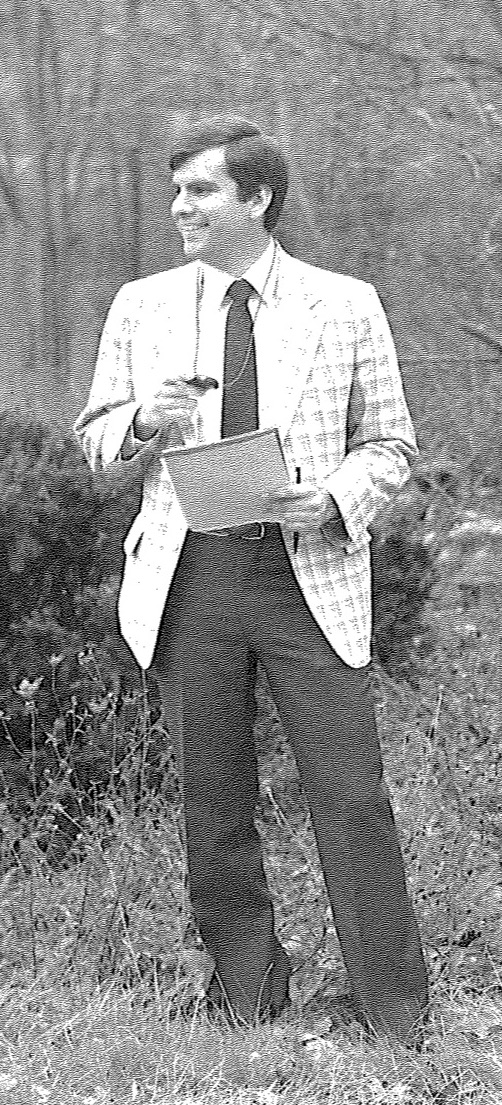 Anthony Pesare at the Rhode Island state police academy in 1981, a year before the McElroy murder. Courtesy of Anthony Pesare.