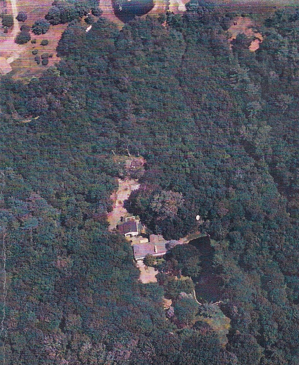 The property in East Greenwich was surrounded by hundreds of acres of woods, making it hard to surveil. The Drug Enforcement Administration still found ways to keep tabs on him, however, taking aerial photographs such as the one above.