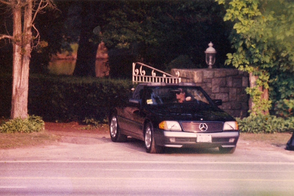A DEA surveillance photograph of Charles Kennedy leaving his home in 1984.