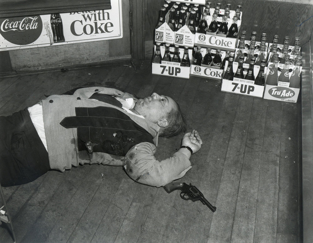Rudolph Marfeo, gunned down in 1968 with Anthony Melei at Pannone's Market, on Pocasset Avenue. Courtesy of The Providence Journal.