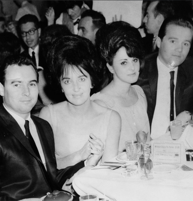 In the 1960s, Gerard Ouimette, far left, rose quickly in the ranks of the Patriarca crime family.  Courtesy of Nicole Sousa.