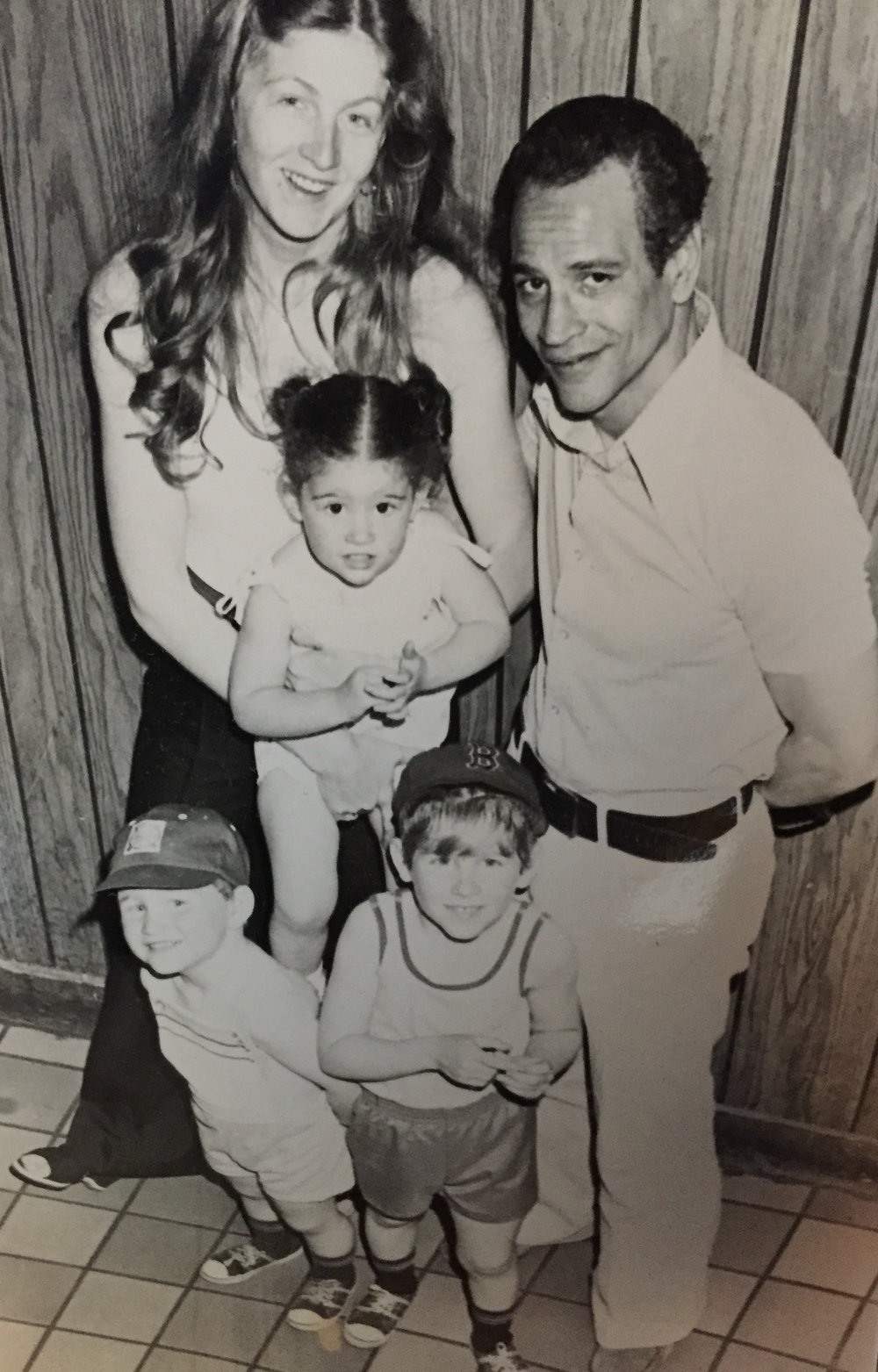 """Sue was honest with her children about their father's criminal history.""""I was deprived of a husband, and my kids were deprived of a father,"""" she says. Courtesy of Ralph Demasi."""