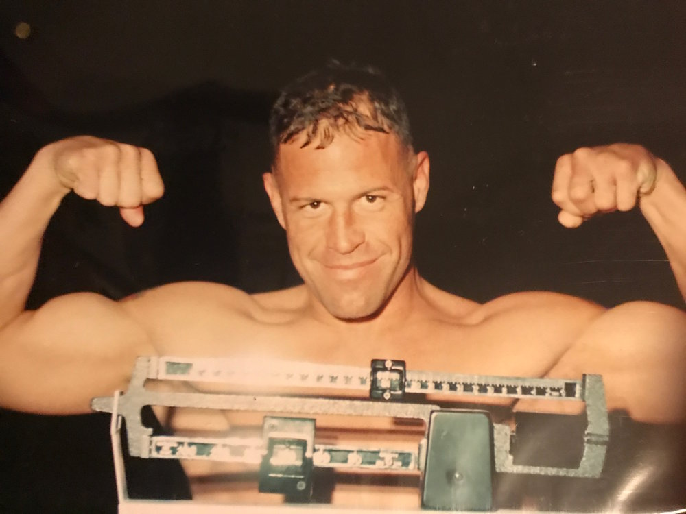 "Burchfield saw world championship potential in Jarrod, envisioning him as the heir apparent to Rhode Island boxing legends like Gary ""Tiger"" Baletto and five-time world champion Vinny Pazienza.  Courtesy of Jarrod Tillinghast."