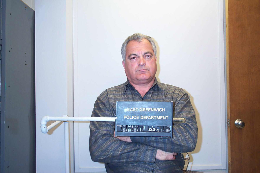 "Bevilacqua was arrested on domestic disorderly charges in 2003. According to the police report, his wife Donna accused him of throwing chairs and a plant at her during an argument that started when she complained about his visits to ""gentlemen's clubs."" The charges were later dismissed.  Courtesy of The Providence Journal."
