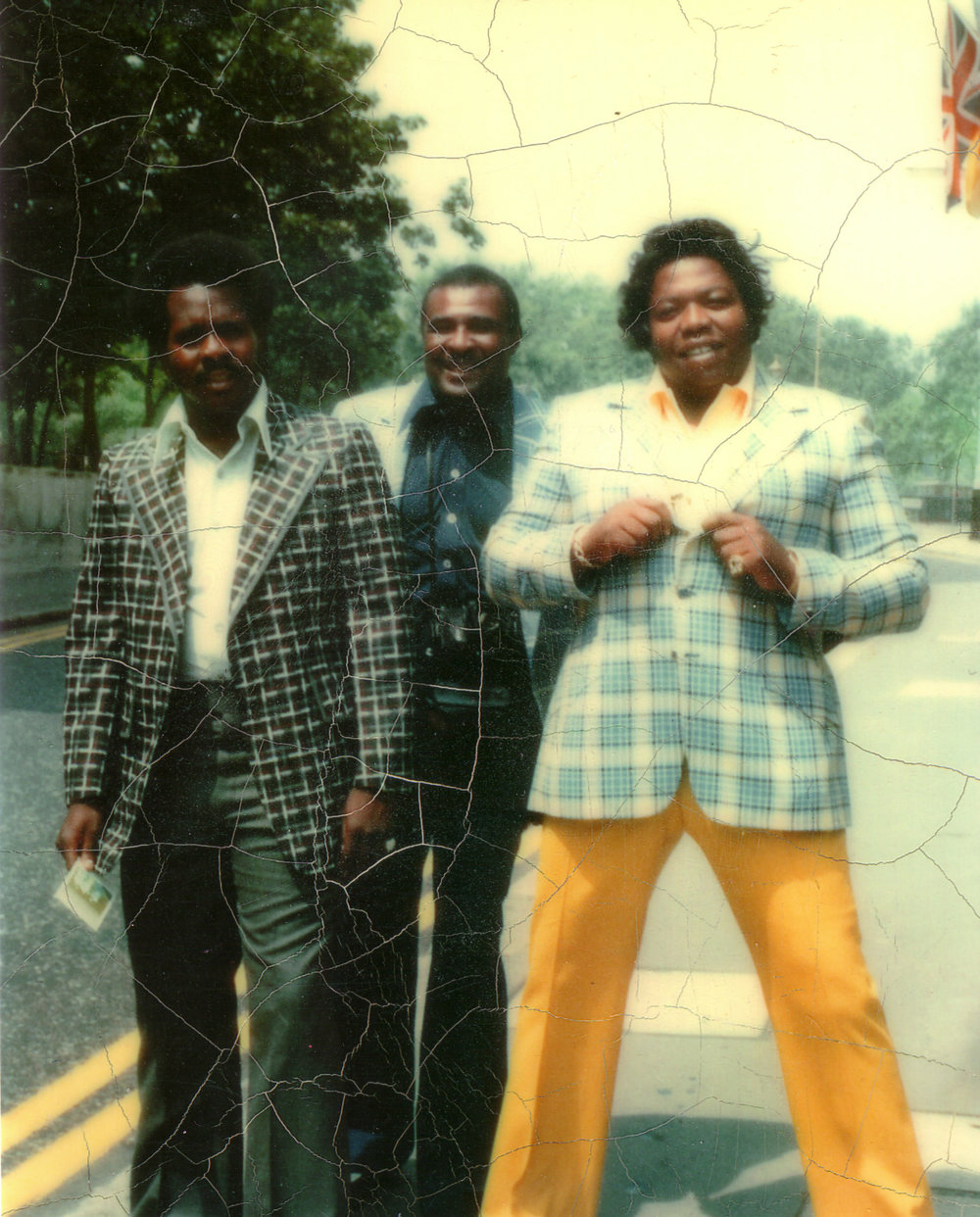 "As he started earning more money from selling heroin, Eddie Jackson, right, developed a taste for the finer things. His appetite eventually earned him the nickname ""the Fat Man.""  Courtesy of Courtney Brown Jr."