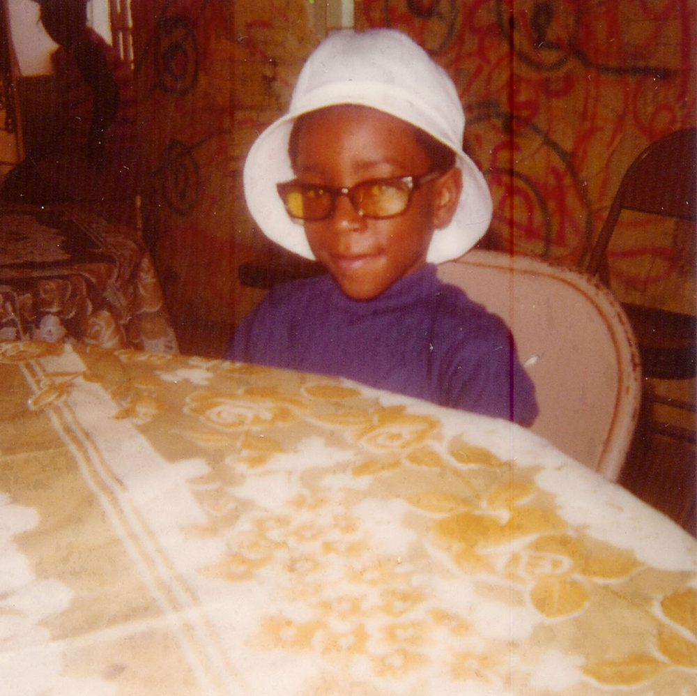 Courtney Brown Jr. was thrilled when his family moved to Southfield, a wealthy suburb of Detroit. He became accustomed to fancy clothes, good schools, and afternoons spent biking around the neighborhood with his best friend, Eddie Jackson Jr., who lived next door.  Courtesy of Courtney Brown Jr.