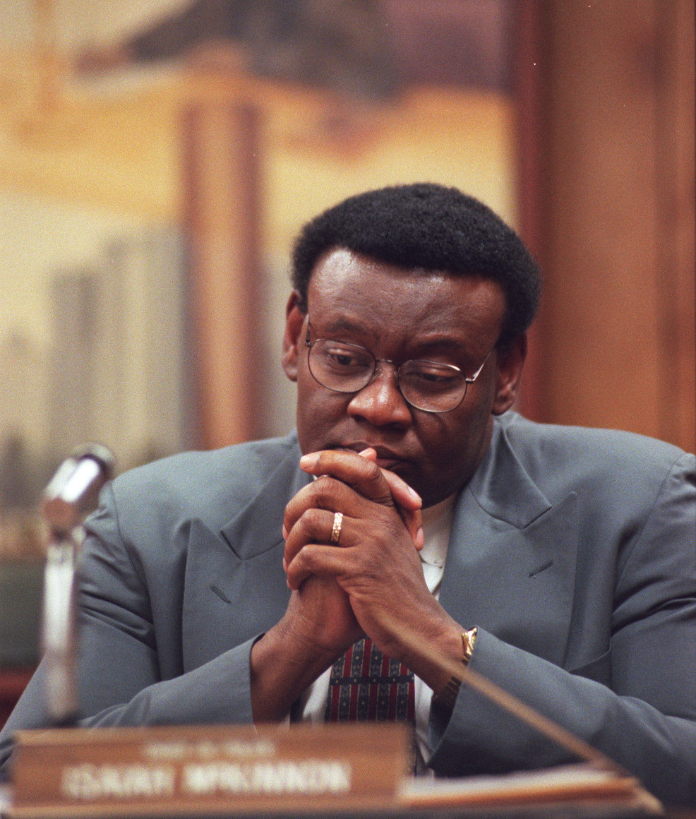 Ike McKinnon was an Internal Affairs sergeant at the Detroit Police Department in the 1970s. He was assigned to investigate allegations that Willie Volsan was dealing drugs out of a restaurant owned by the mayor's family. But he believed that the investigation was hampered by leaks from the police department. Courtesy of the Detroit Free Press.