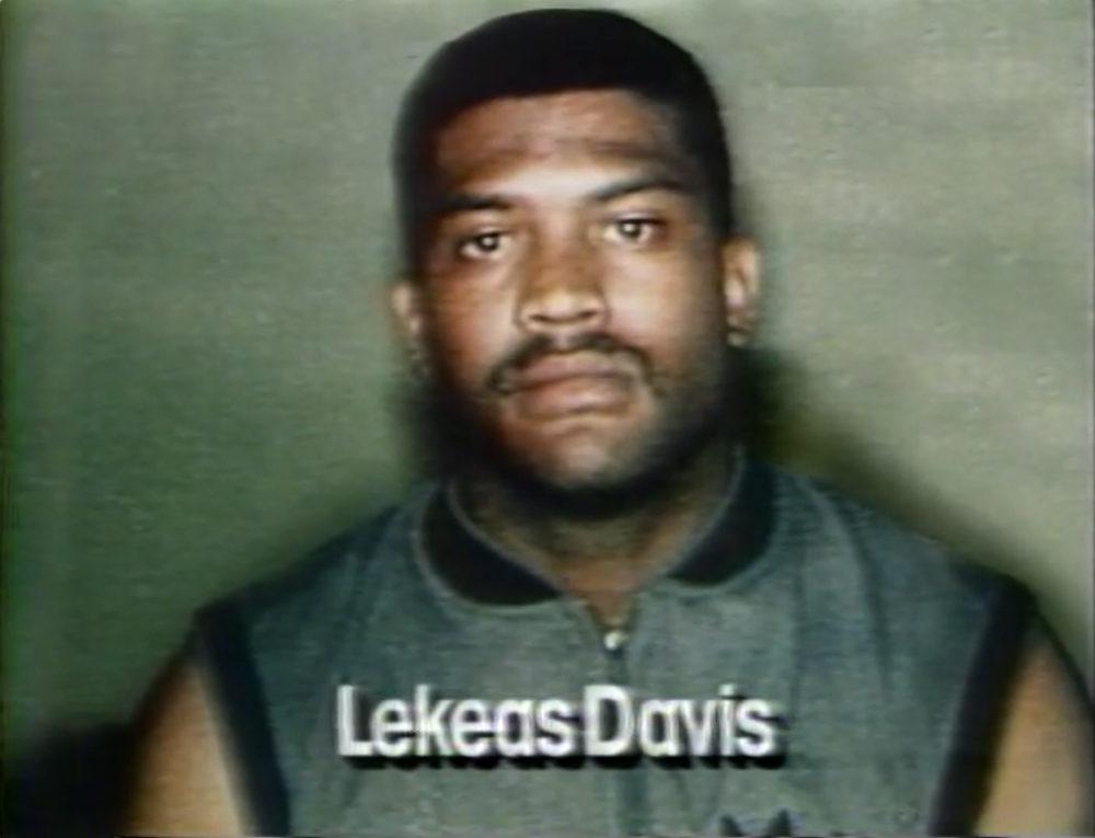 LeKeas Davis had been in a fight with Leon Lucas the week prior to the drive-by shooting. So the Detroit Police Department arrested Davis   for Damion's murder, even though Leon insisted Davis had nothing to do with it.  Courtesy of Vince Wade.