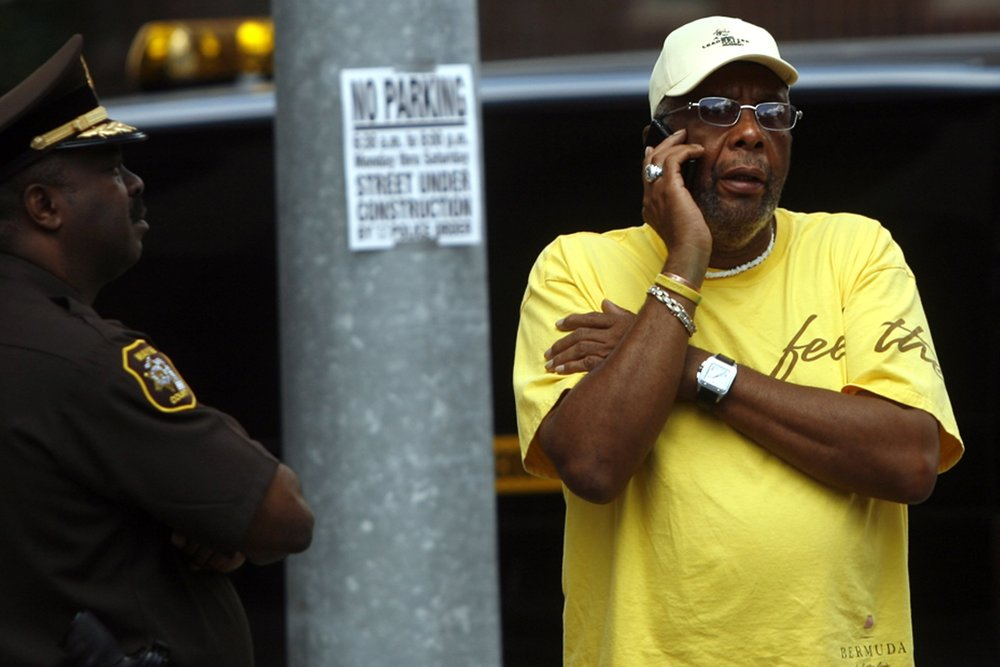 While his son was mayor, Bernard Kilpatrick created a political consulting firm and lobbied on behalf of city contractors. Federal authorities tapped Bernard's phone calls, and discovered that he was taking bribes.  Courtesy of the Detroit Free Press.