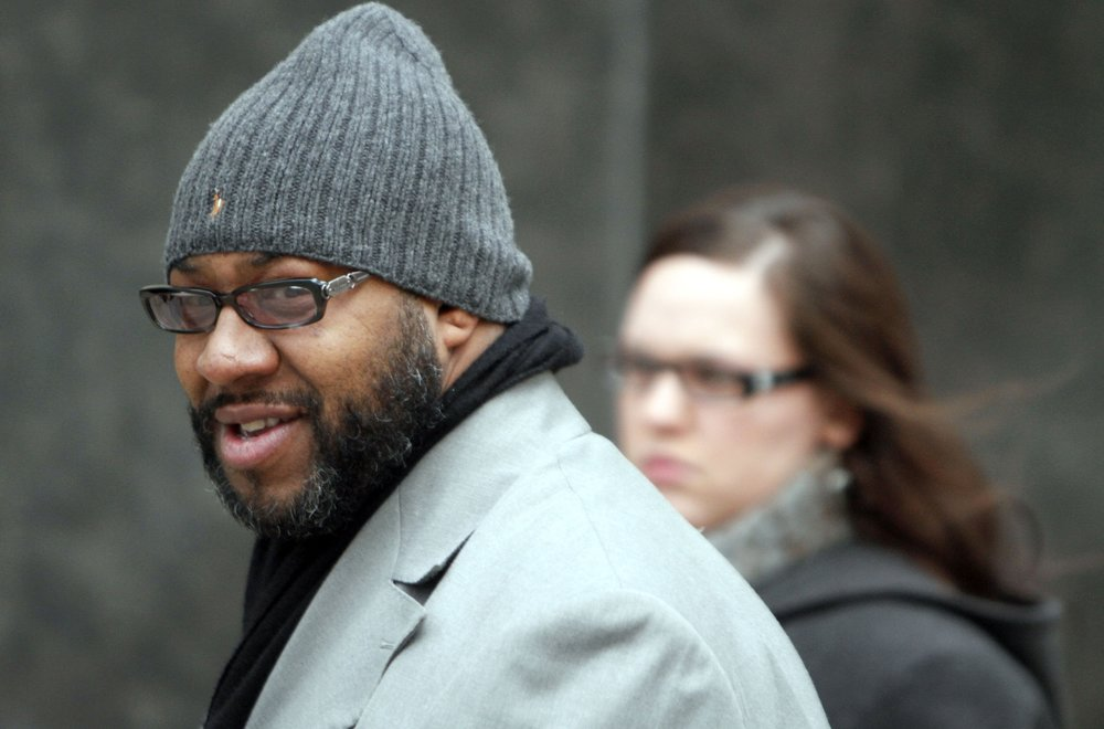 Contractor Bobby Ferguson makes his way into Federal Court in Detroit. Ferguson met Kwame Kilpatrick several years before Kilpatrick was elected mayor and the two became friends. Ferguson was also charged in the RICO indictment, which alleged that he used his friendship with the mayor to rig city contract bids in his favor.  Courtesy of the Detroit Free Press.
