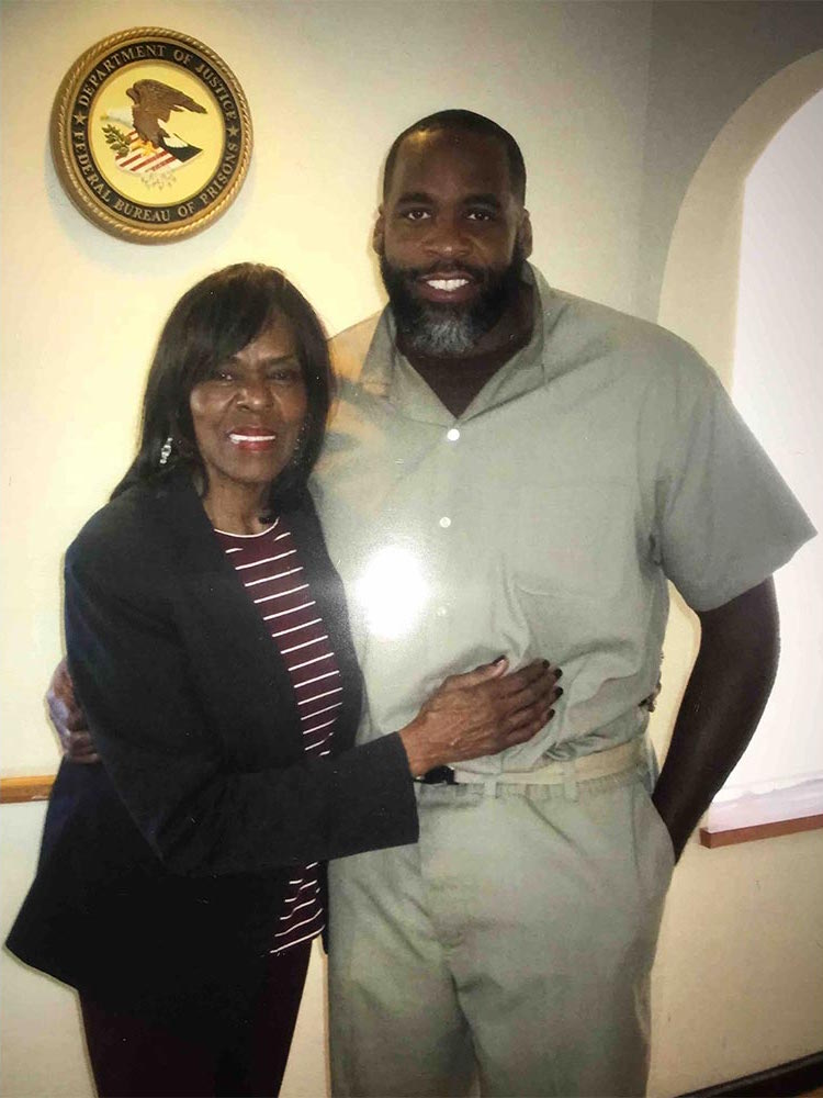 Kwame's mother Carolyn Cheeks Kilpatrick lost her bid for re-election to the U.S. House of Representatives in 2010 amid her son's corruption scandals. She continues to support his efforts to be set free.  Courtesy of the Free Kwame Project.
