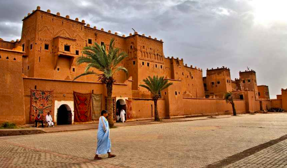Ouarzazate - Famously nicknamed the