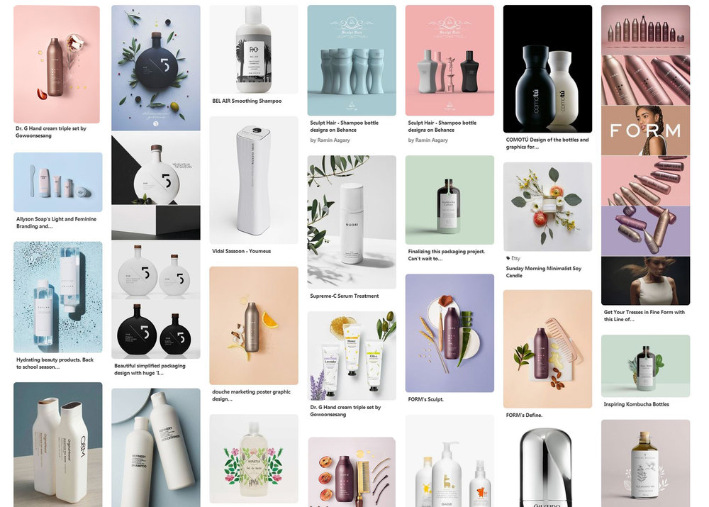 Inspiration Image Boards and Competition