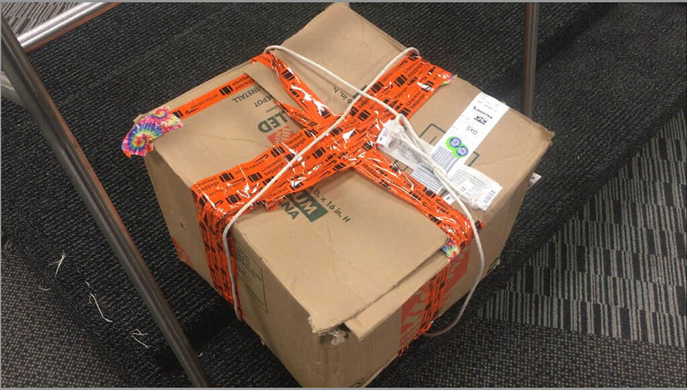 My bounce box barely survives customs in New Zealand. What's inside? Read to find out...