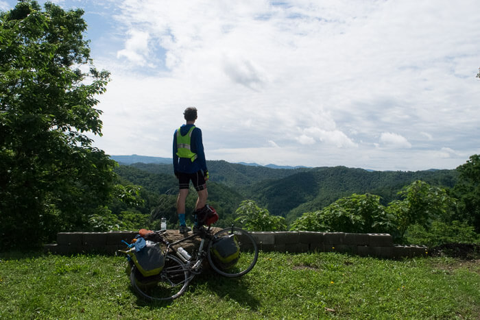 The lookout is one reason to ride